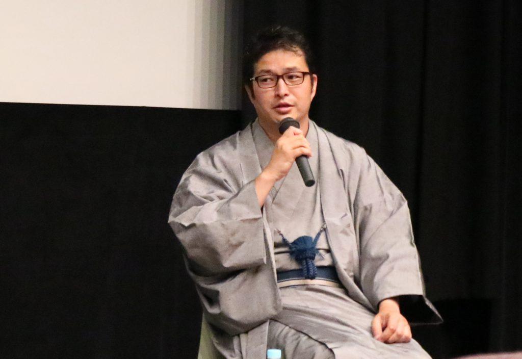 平成26年度京都映画企画市受賞者の小川岳志監督